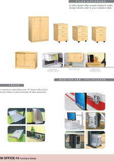 Files & Storage, Trays, Monitor Arm / CPU Holder