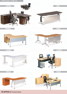 Office Tables; Aster, Iris, Rumex, Imax, Laven, Inula, Pole