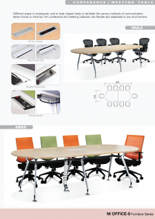 Office Tables; Office Table; Conference / Meeting Table - Inula, Abies