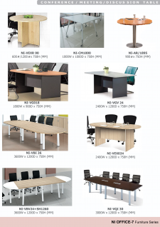 Office Tables; Office Table; Conference / Meeting Table Shapes