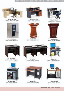 Receptions Tables, Rostrum, Computer Table