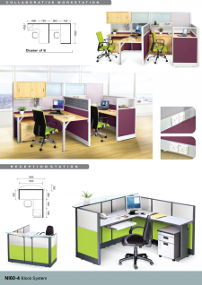 Collaborative Workstation, Reception Station
