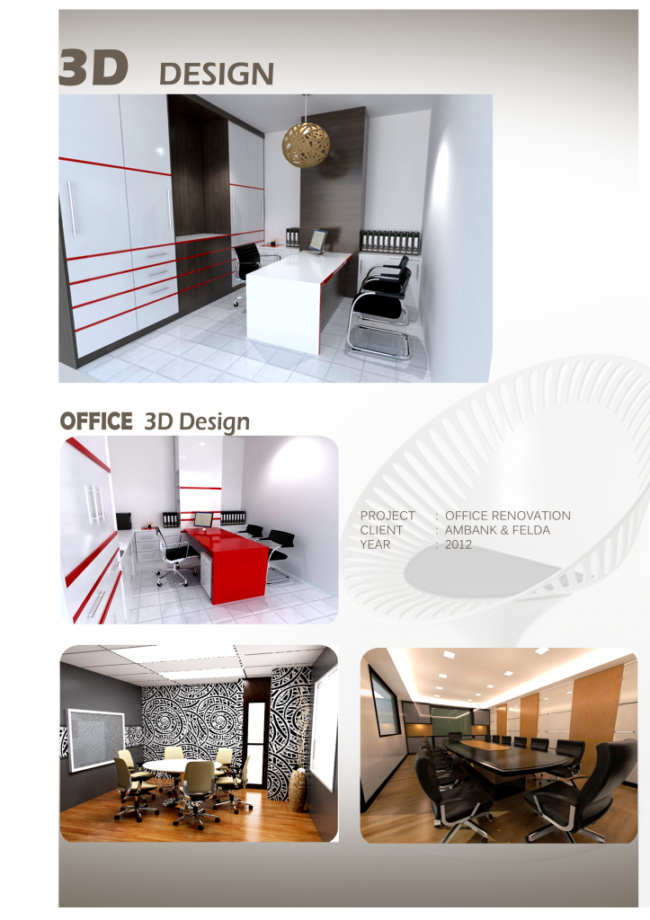 3d office design n i interior design furniture sdn bhd for 3d office design software