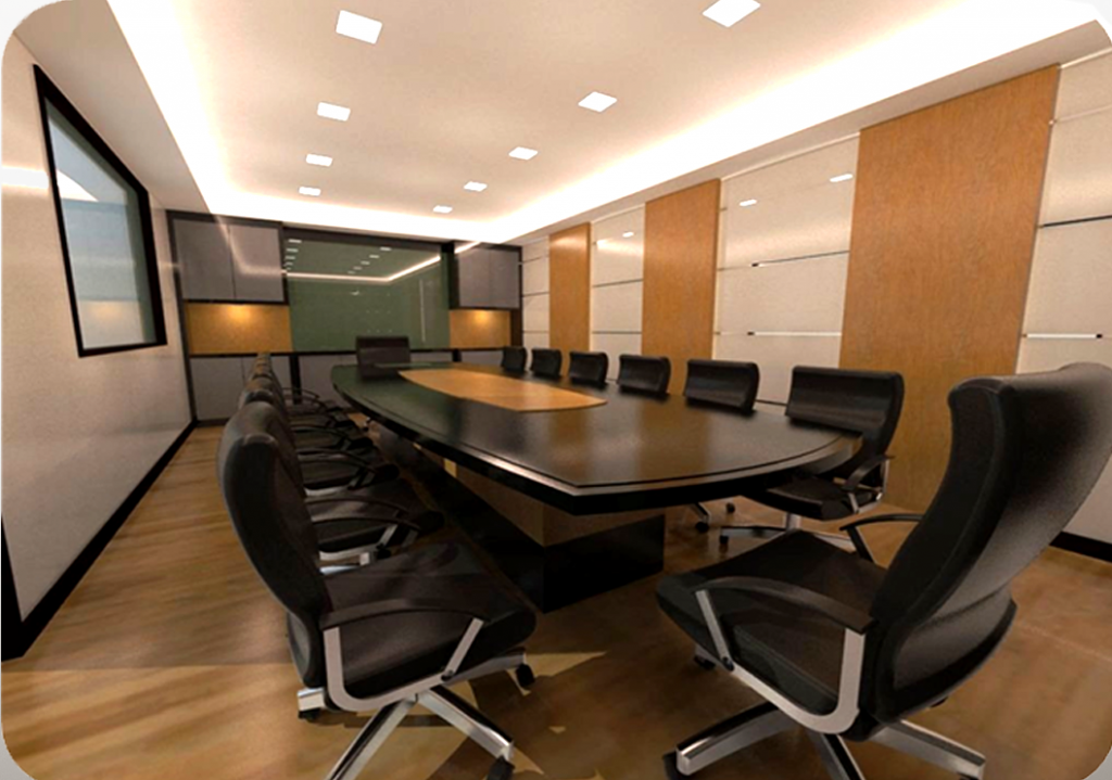 48D Office Design NI Interior Design Furniture Sdn Bhd Custom 3D Office Design